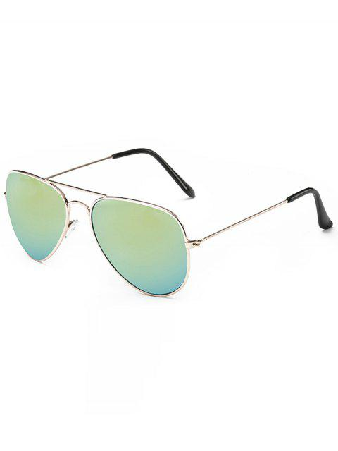 sale Retro Crossbar Pilot Sunglasses - CHAMPAGNE GOLD  Mobile