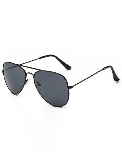 306b2a287e1 Retro Crossbar Pilot Sunglasses - Black ...