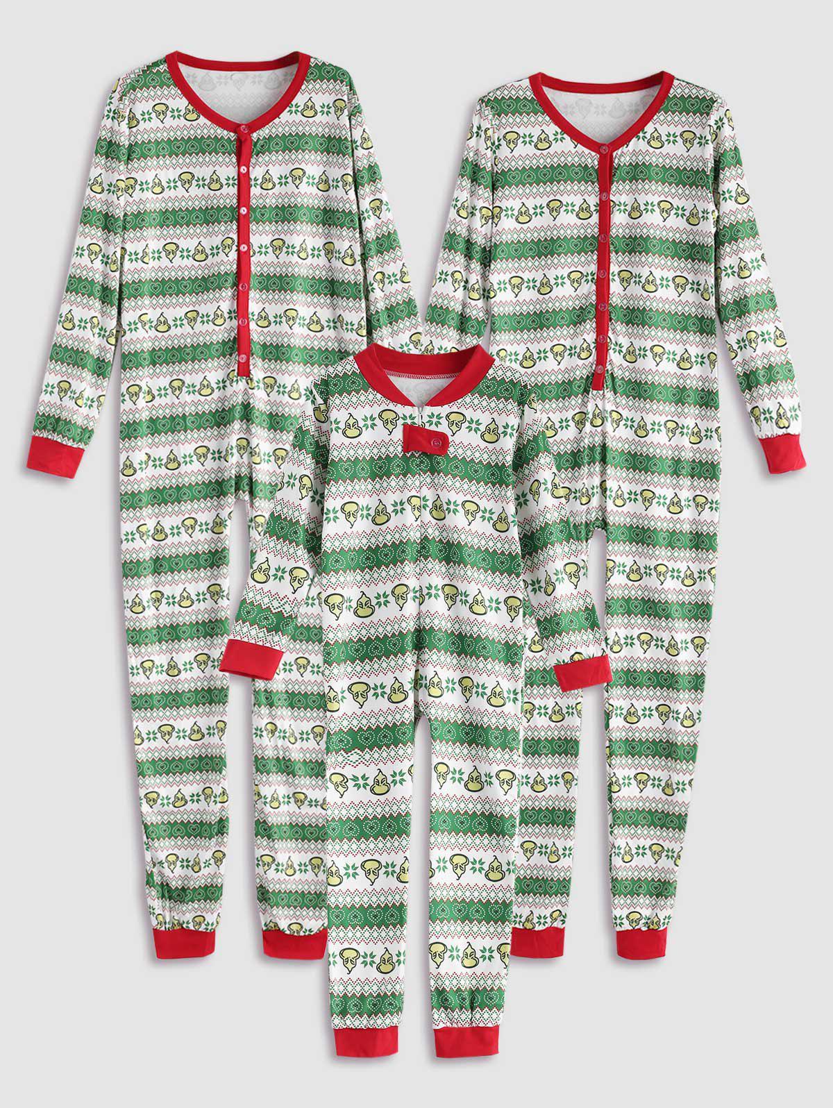 Cœur Onesie De La Famille Noël En Pyjama