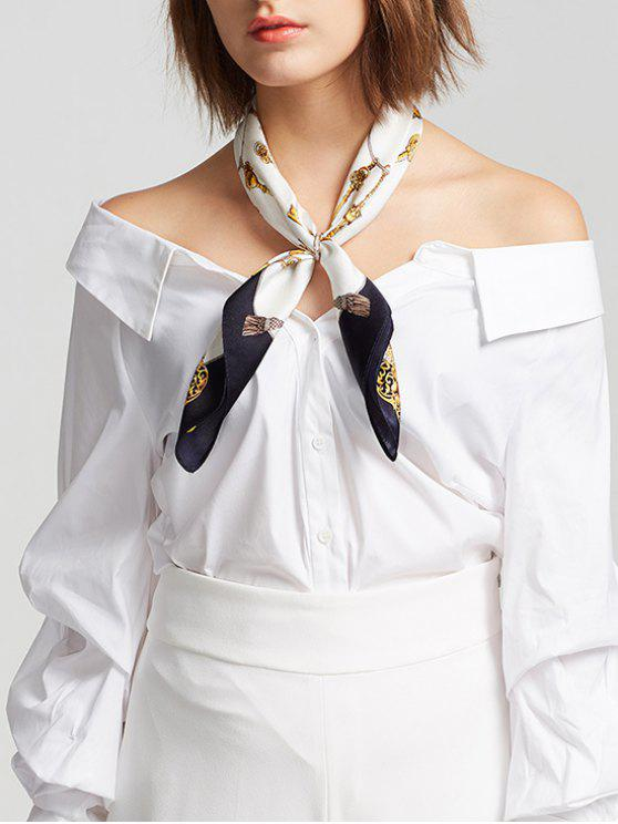 best Elegant Party Silky Handkerchief - MULTI-C
