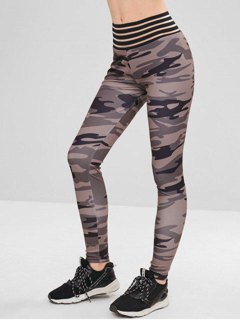Scrunch Hintern Camo Leggings - ACU Tarnung XL Mobile