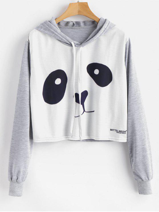 Sweat à capuche graphique Panda - Multi M