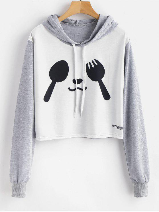 outfit Spork and Spoon Graphic Pullover Hoodie - MULTI M