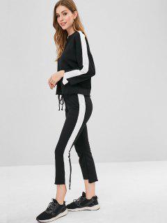 Sweat-shirt Et Pantalon De Survêtement Terry - Noir M