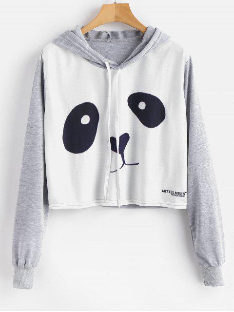 Panda Grafik Pullover Hoodie - Multi M Mobile