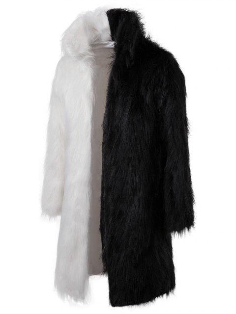 Abrigo largo de piel sintética - Multicolor L Mobile