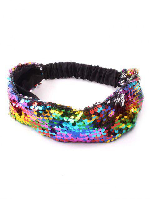 online Sequins Elastic Hairband - MULTI  Mobile