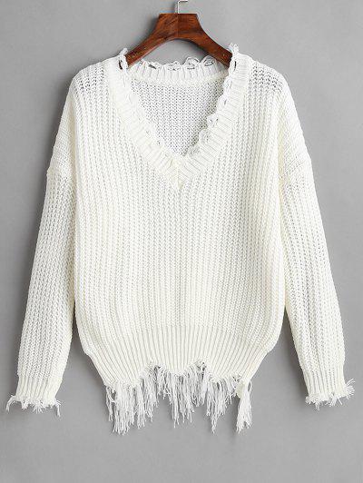 2019 Distressed Sweater Online  499b4e47e