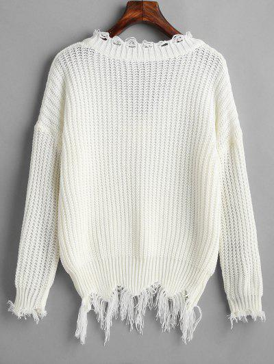 15205be90cf 2019 Distressed Sweater Online | Up To 51% Off | ZAFUL .