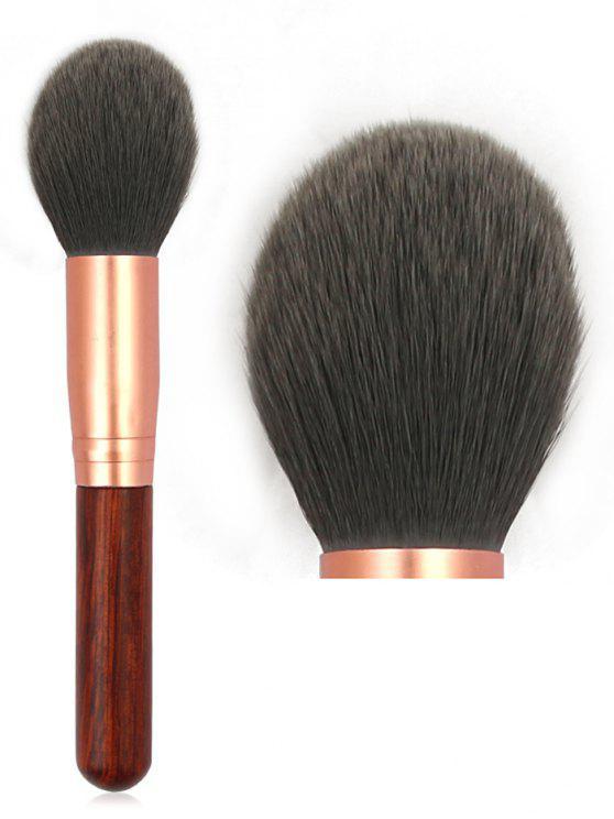 affordable Multifunctional Soft Hair Powder Blush Brush - BLACK