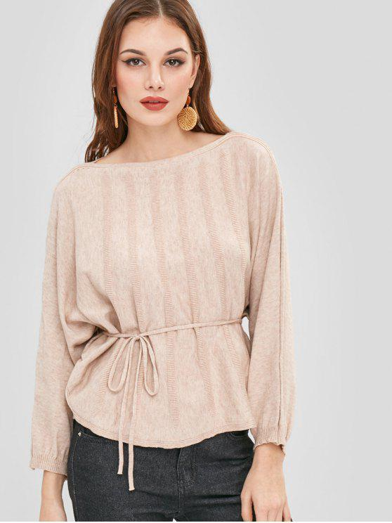 new Soft Dolman Oversized Sweater - CAMEL BROWN ONE SIZE