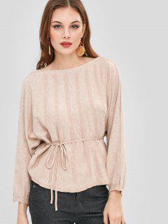Soft Dolman Oversized Sweater - Camel Brown