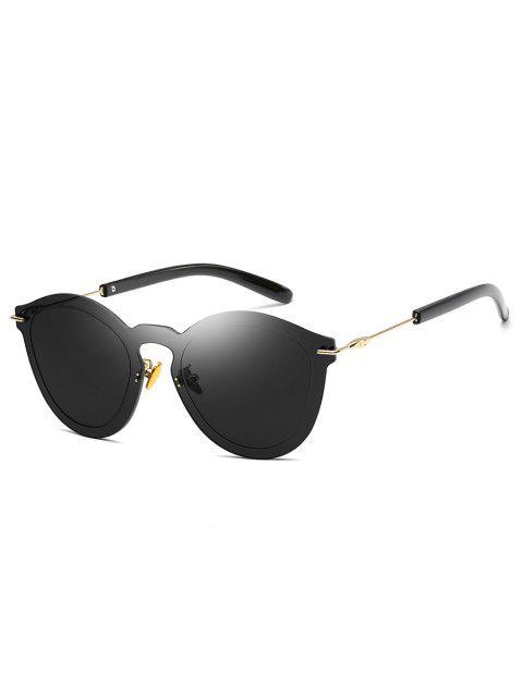 Gafas de sol para exterior sin marco de metal - Negro  Mobile