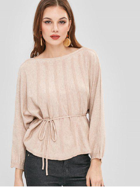 new Soft Dolman Oversized Sweater - CAMEL BROWN ONE SIZE Mobile