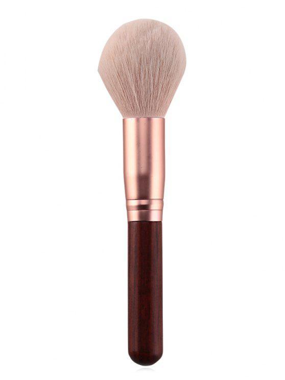 sale Professional Wooden Handle Soft Hair Powder Brush - LIGHT PINK