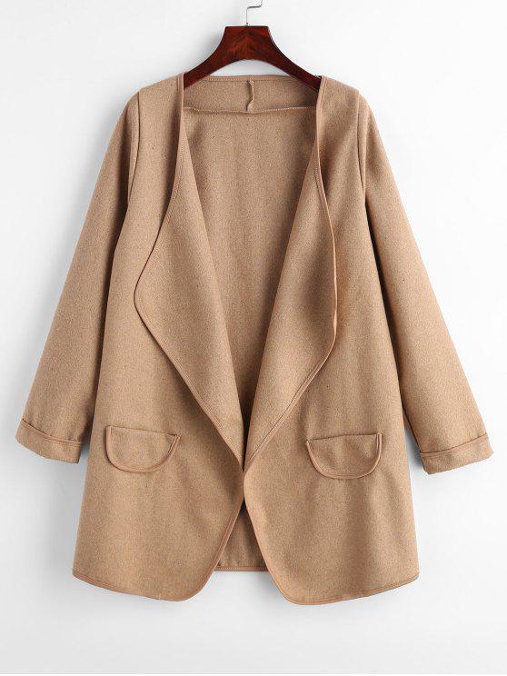 معطف مفتوح من الامام - الجمل الجمل حجم واحد