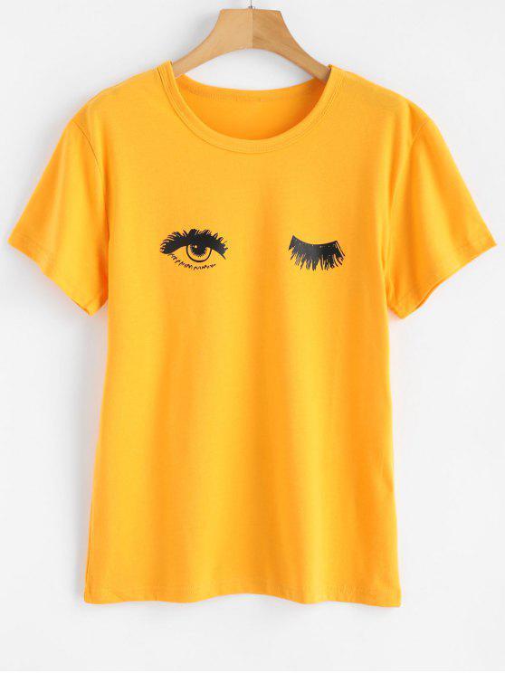 Vindo colhida camiseta sexta-feira  's - Amarelo Brilhante S