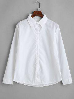 Chemise De Base Ajustée - Blanc