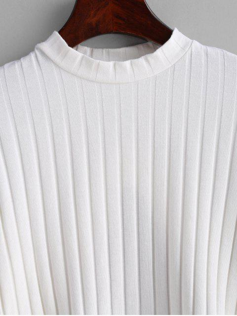 latest Cropped Open Back Top - WHITE L Mobile