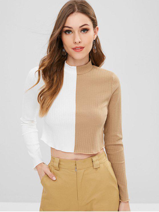 T-Shirt Corta Bicolore - Multi Colori M