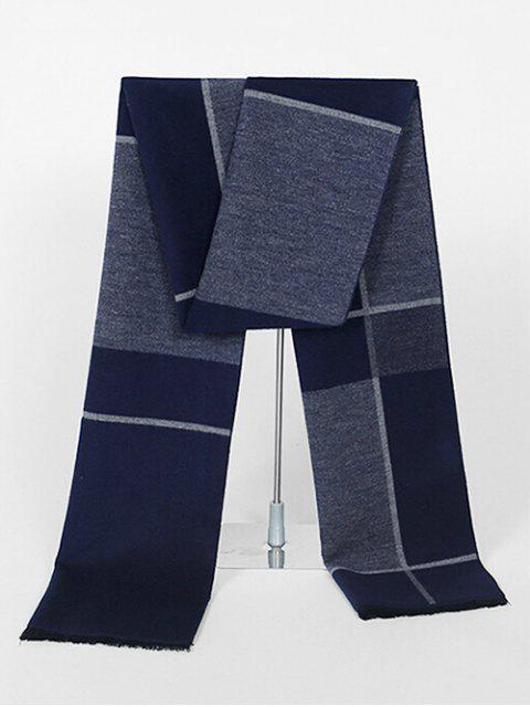 outfits Color Block Reversible Long Scarf - MULTI-A  Mobile
