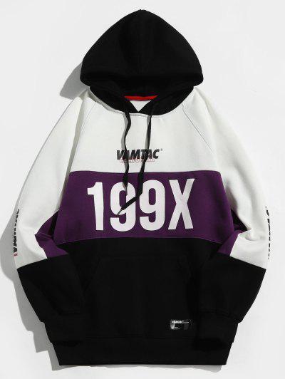 Imagem de 199X Graphic Fleece Lined Colorblock Hoodie