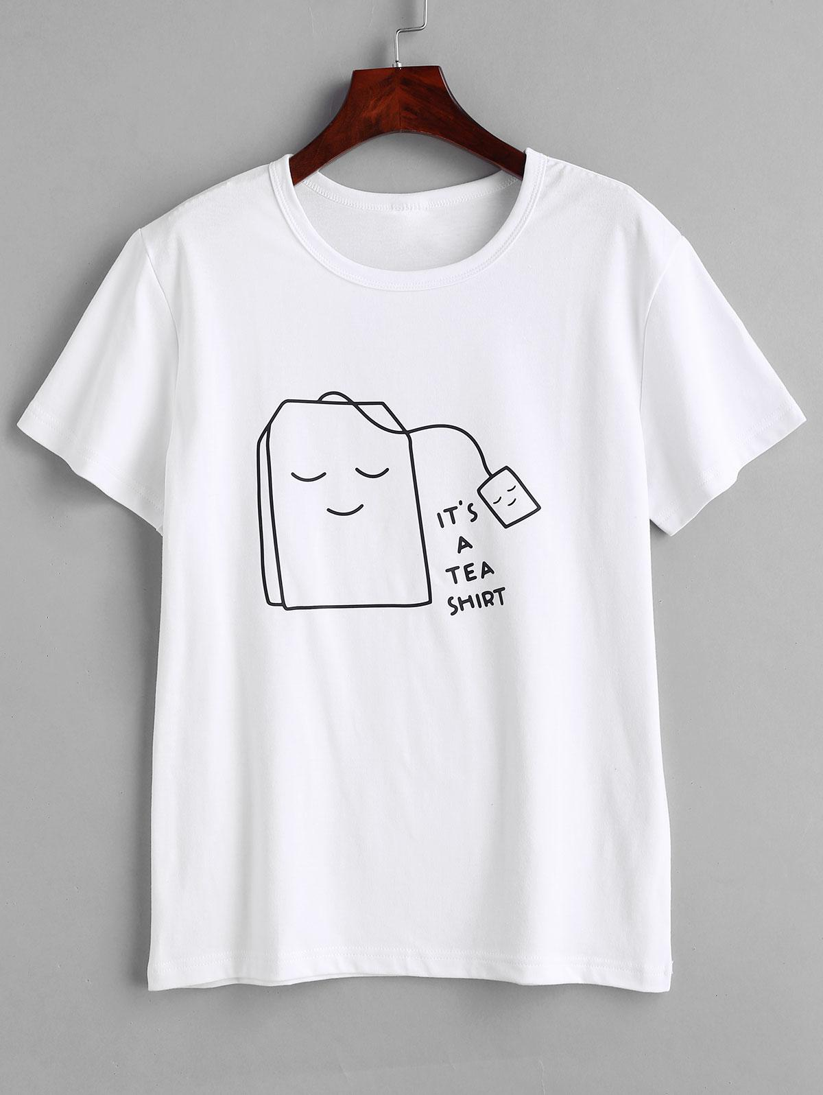Tea Graphic T-shirt