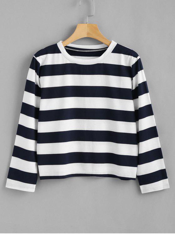 T-Shirt A Righe - Multi Colori S