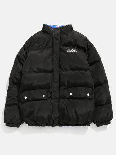 Reversible Puffer Jacket - Black M