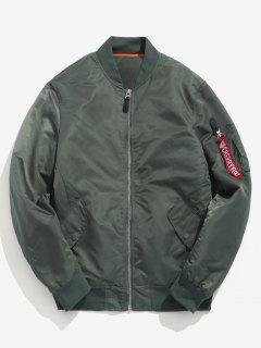 Winter Padded Bomber Jacket - Army Green S