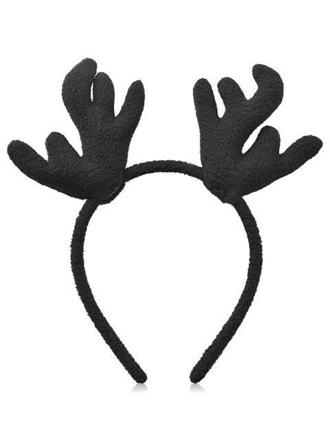 Bandeau de Cheveux de Noël Ramure Imprimée - Noir  Mobile
