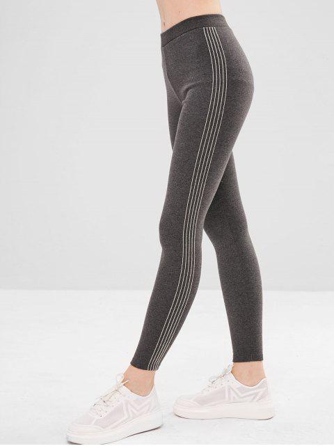 Legging élastique doublé de molleton - Gris Foncé Taille Unique Mobile