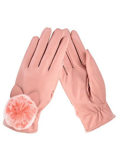 Full Finger Pom Pom Gloves 341171802