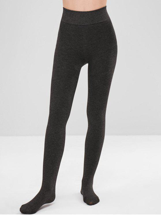 175d9f6c355 52% OFF  2019 Velvet Fleece Lined Tights Leggings In CARBON GRAY