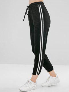 Pantalon De Jogging En Velours - Noir M