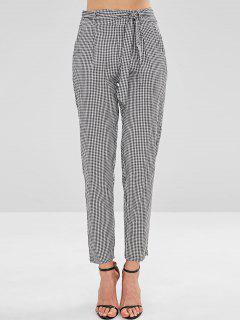 Pantalones Cónicos Con Cinturón De Guinga - Multicolor S