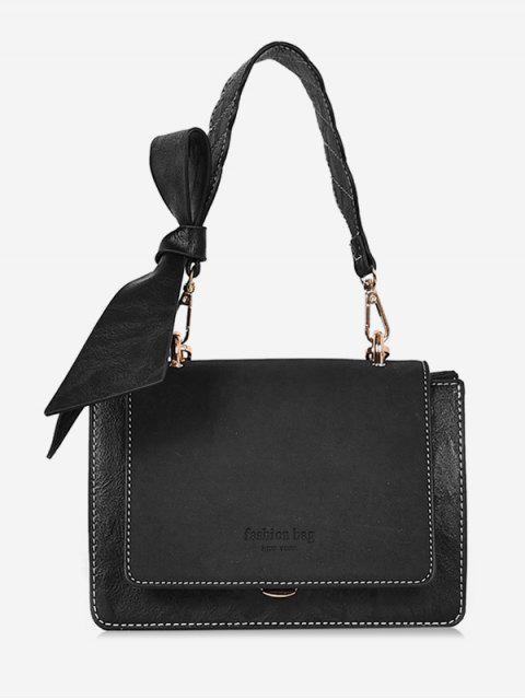 outfits Bowkont Cover Design Crossbody Bag - BLACK  Mobile