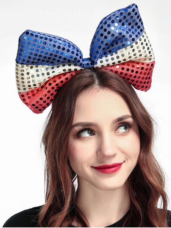 latest Bowknot Sequins Hair Accessories - MULTI