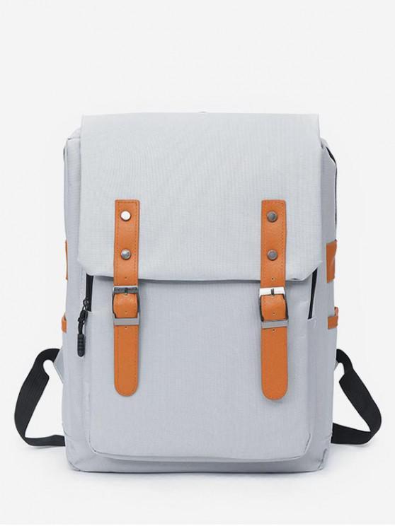 shops Waterproof Design School Backpack - GRAY