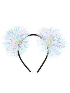 Halloween Ball Design Hair Band - Black