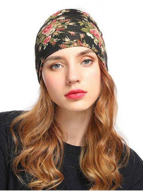 fashion Bohemian Floral Hair Party Hair Band - MULTI  Mobile