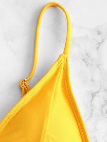 5e409d99241 15% OFF   HOT  2019 ZAFUL Padding Bikini Set In RUBBER DUCKY YELLOW ...