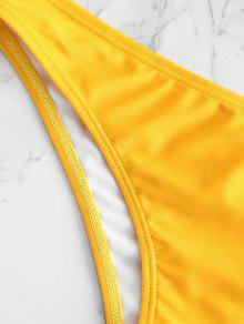 bfda511fdd4 ... ZAFUL Padding Bikini Set. sale ZAFUL Padding Bikini Set - RUBBER DUCKY  YELLOW L