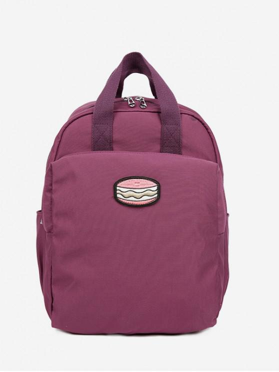 ce0ef75f6f 31% OFF  2019 Cake Printed Student Backpack In VIOLA PURPLE
