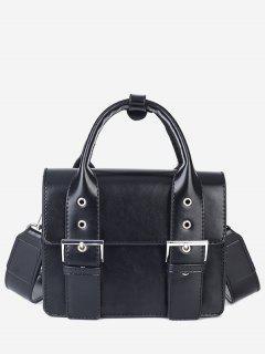 Wideband Design Square Tote Bag - Black
