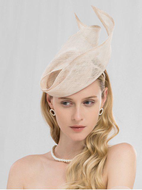 sale Vintage Tea Party Wedding Hair Hoop - CHAMPAGNE  Mobile