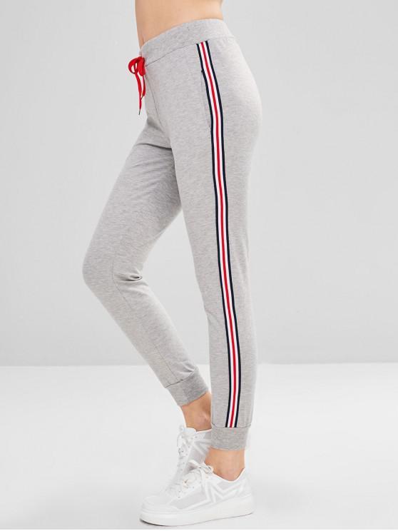 39 off 2019 pantalon de sport jogger avec cordon de. Black Bedroom Furniture Sets. Home Design Ideas