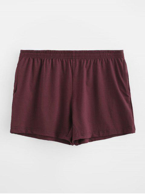 Solid Soft Boxer Briefs - Blutrot 2XL Mobile