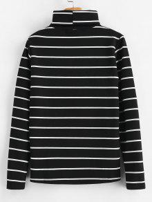 56d5d007d3 Long Sleeve Turtleneck Striped Tee  Long Sleeve Turtleneck Striped Tee ...