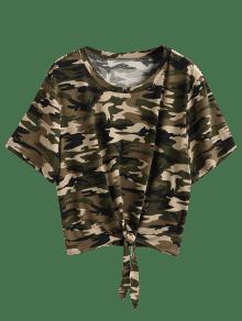 b1ddf48e845f7 39% OFF  2019 Tie Camo Plus Size T-shirt In ACU CAMOUFLAGE 2X
